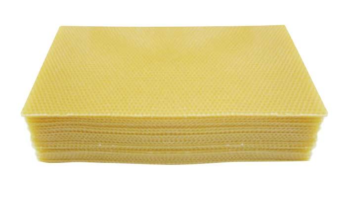 Full Depth Foundation Wax - Heavy Brood -  20 pcs of full depth foundation bees wax only