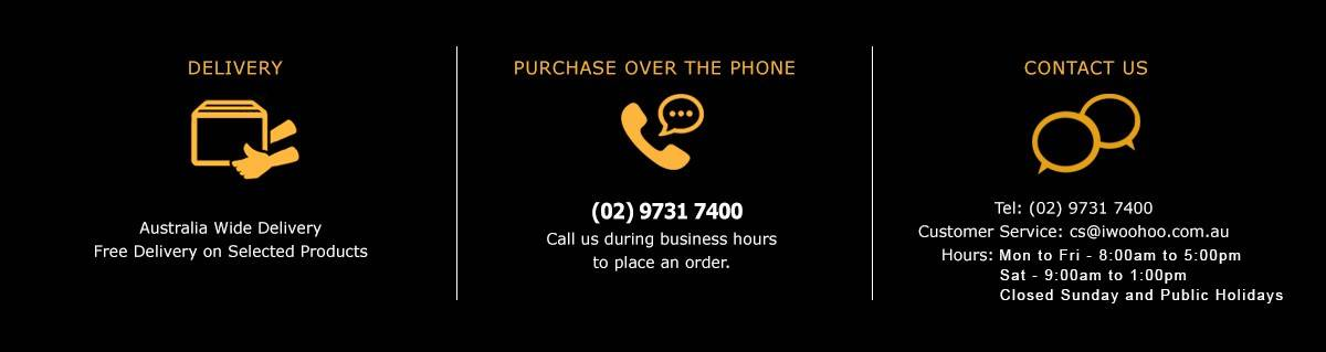 Contact Us / Purchase Over the Phone / Delivery