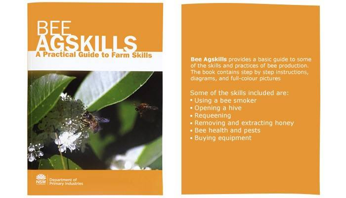 Australian Beekeeping Book Bee Agskills By Nsw Dpi - 114 Pages