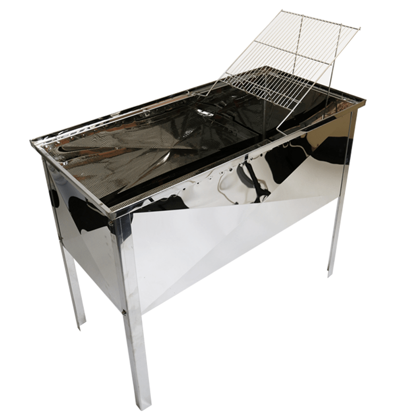 Uncapping Station, Deluxe Stainless Steel - 1 Metre