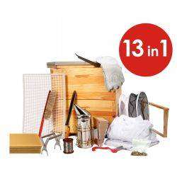 13 in 1 Deluxe Beekeeping Apiarist Kit - 10F