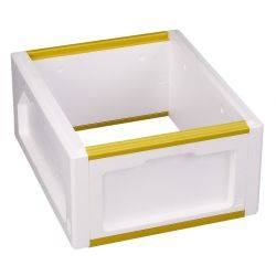 Beehive - Polystyrene Supers Full Depth, High Density, 2 x  Bee Boxes